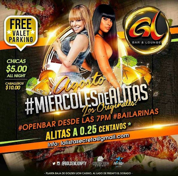 Photo of Agosto #MiércolesDeAlitas en Golden Lion