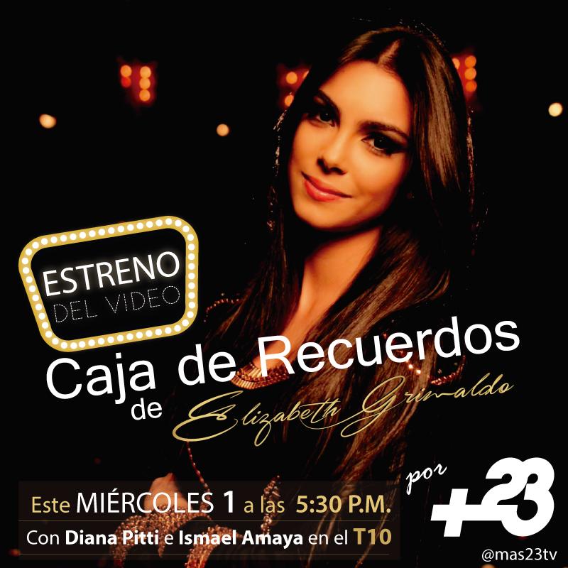 Photo of Elizabeth Grimaldo Estrena Videoclip