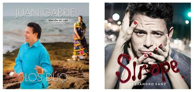 Photo of Juan Gabriel «Los Duo» y Alejandro Sanz «Sirope» los dos albumes más vendidos en hispanoamérica