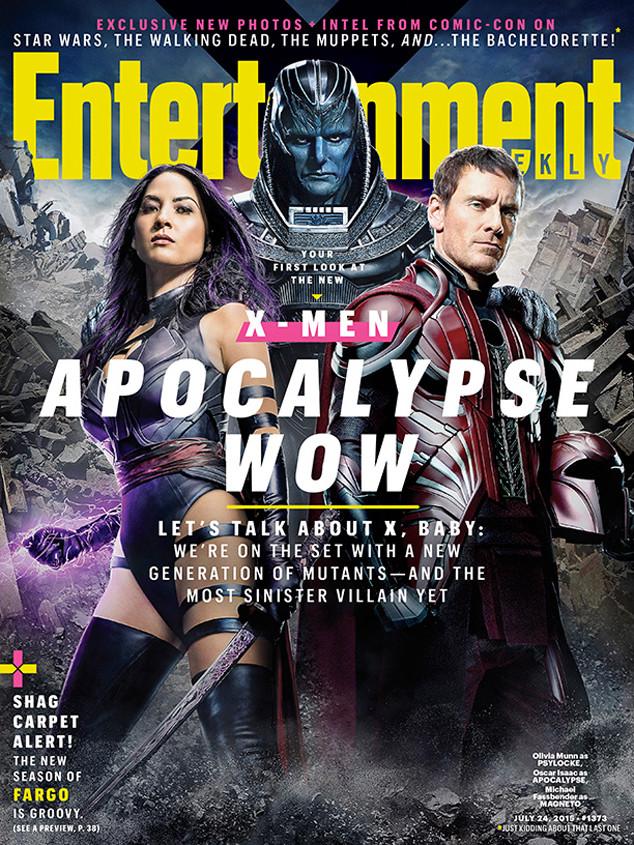 Photo of Presentan la primera imagen de Apocalipsis, la nueva película de los X-Men (+ Foto)