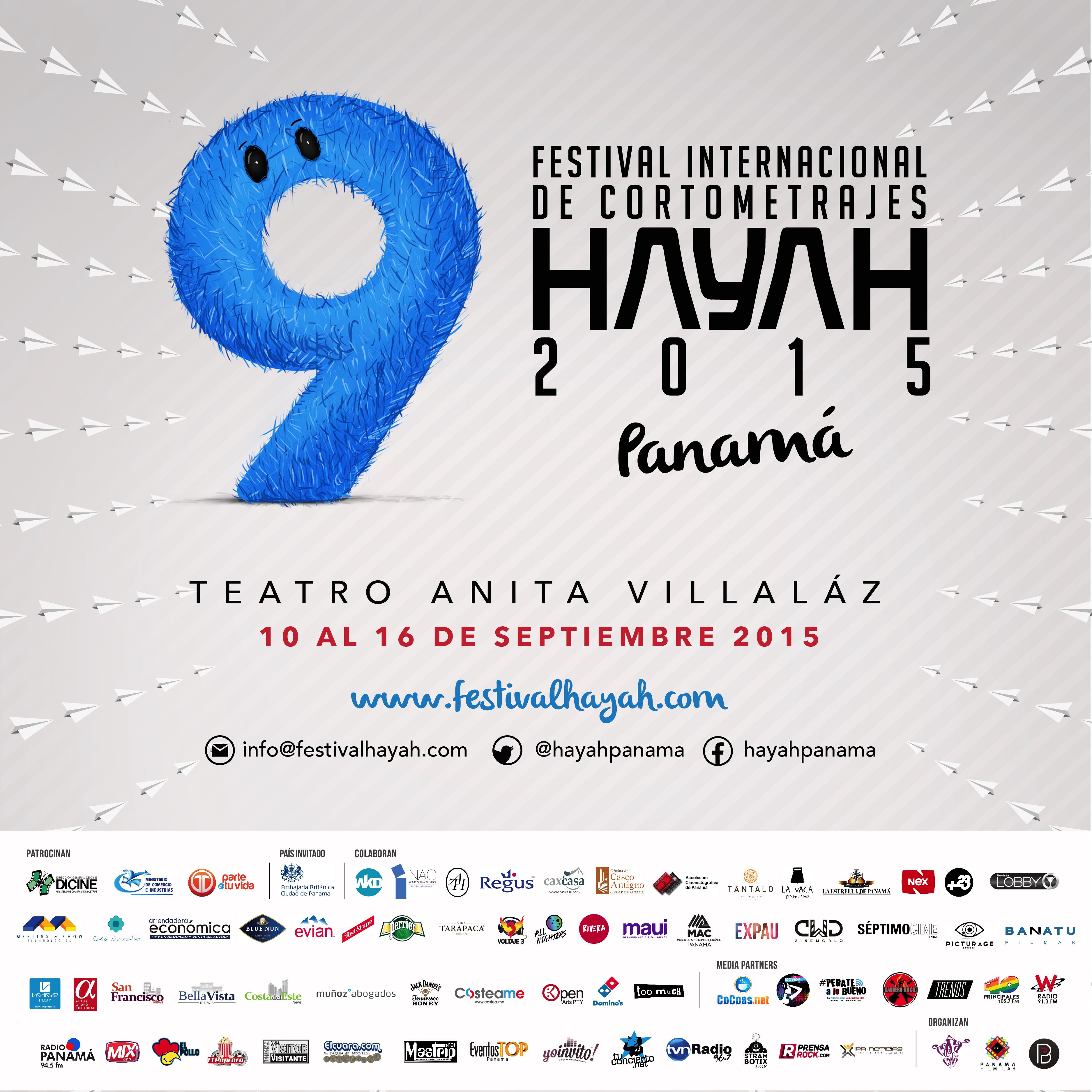 Photo of 9no FESTIVAL INTERNACIONAL DE CORTOMETRAJES HAYAH DE PANAMÁ