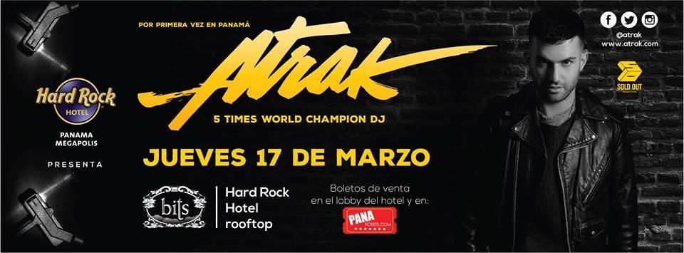 Photo of DJ ATrak en Panamá