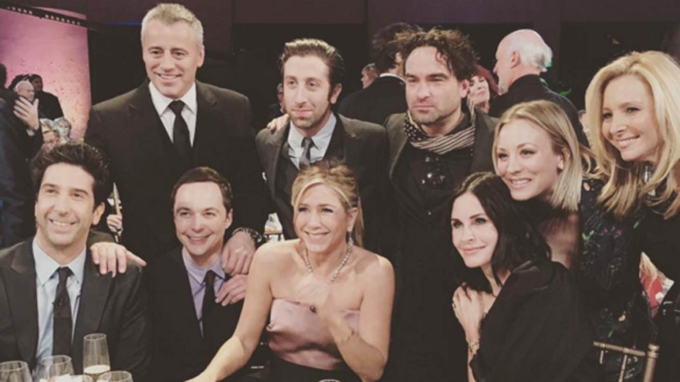 Photo of Así fue el ansiado reencuentro del elenco de Friends