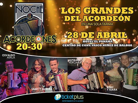 Photo of Noche de acordeones 20-30