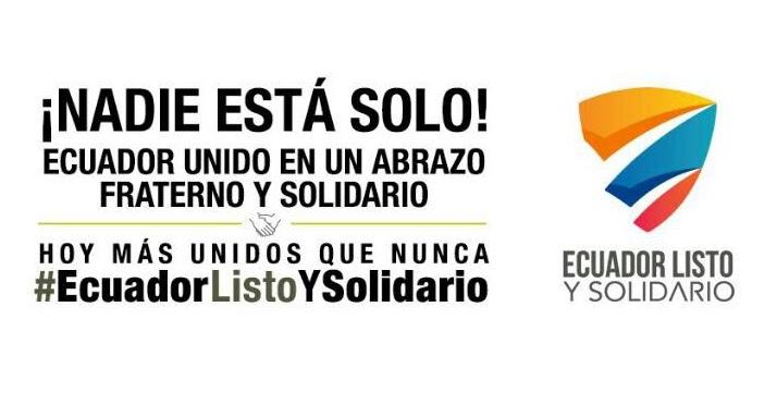 Photo of Ecuador listo y solidario