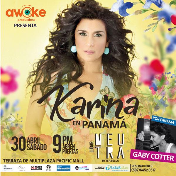 Photo of Karina Concierto Intimo en Panamá