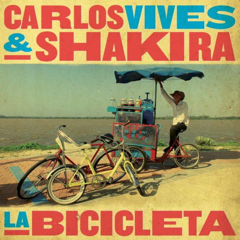 Photo of Carlos Vives y Shakira  en «La Bicicleta»