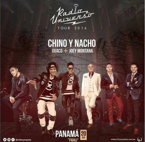 Photo of Chino y Nacho + Joey Montana + Guaco y San Luis