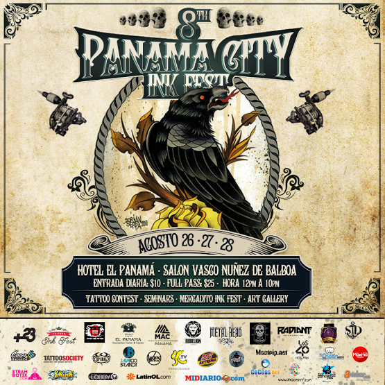 Photo of Vuelve el Panamá City Ink Fest