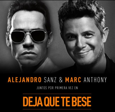 Photo of Alejandro Sanz y Marc Anthony juntos