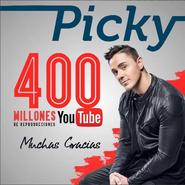Photo of Siguen los éxitos de Joey Montana con 'Picky'