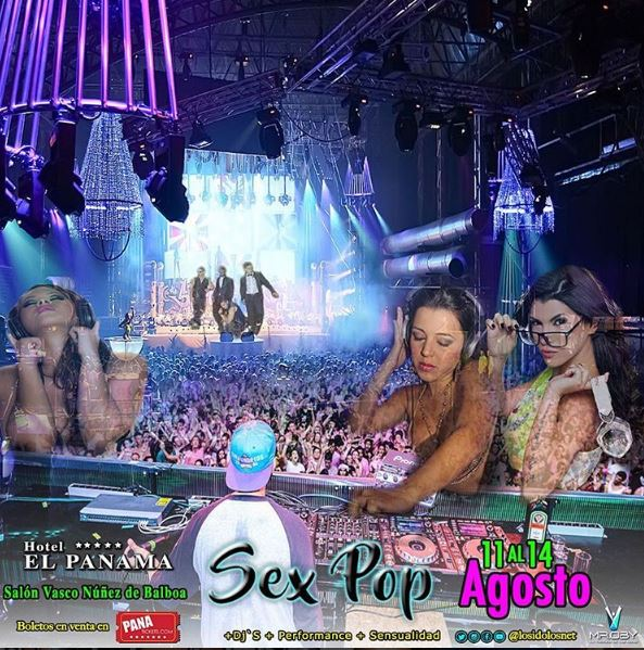 Photo of Sex Pop del 11 al 14 de Agosto