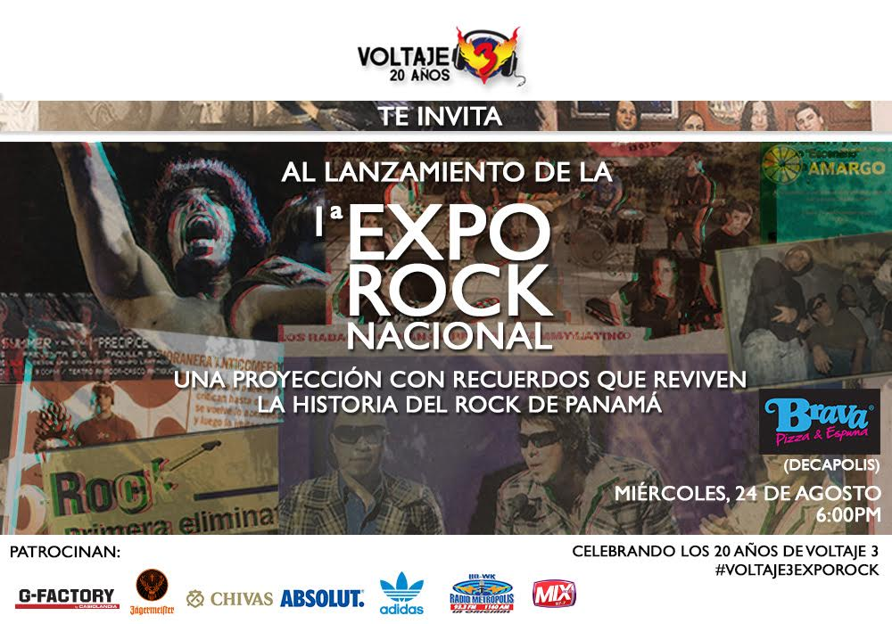 Photo of Expo de Rock Nacional en Panamá