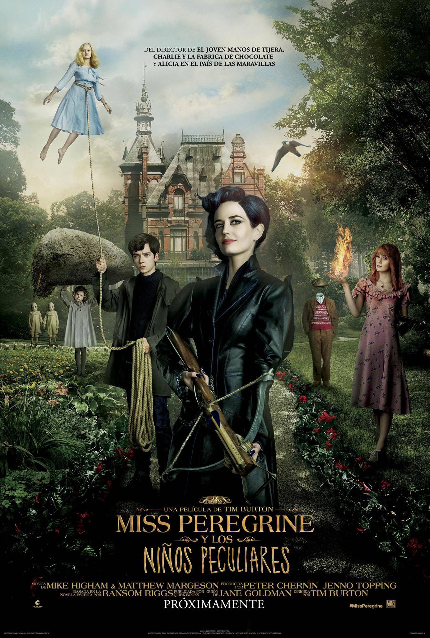Photo of El hogar de Miss Peregrine para niños peculiares