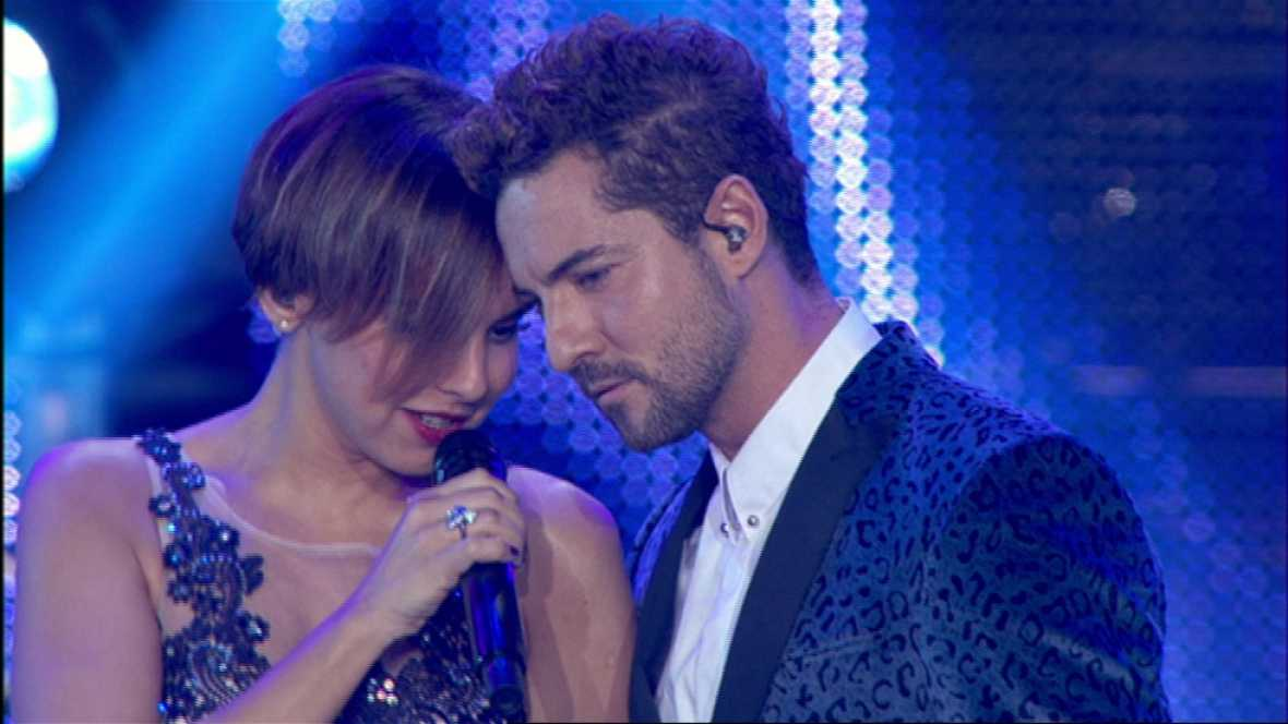 Photo of Chenoa y David Bisbal se reencuentra en OT