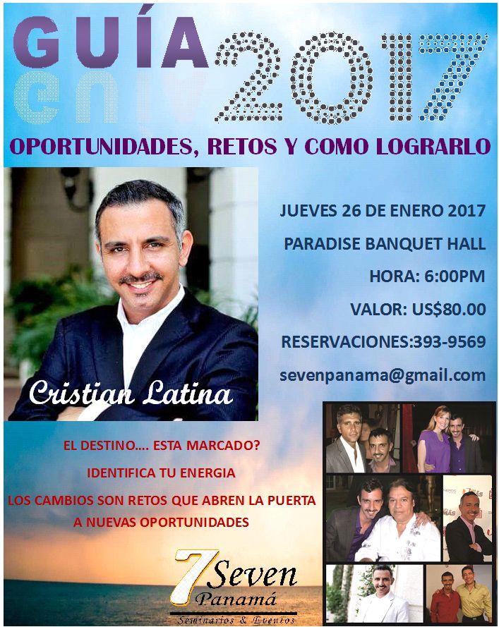 Photo of Conferencia Internacional Guía 2017 con Cristian Latina