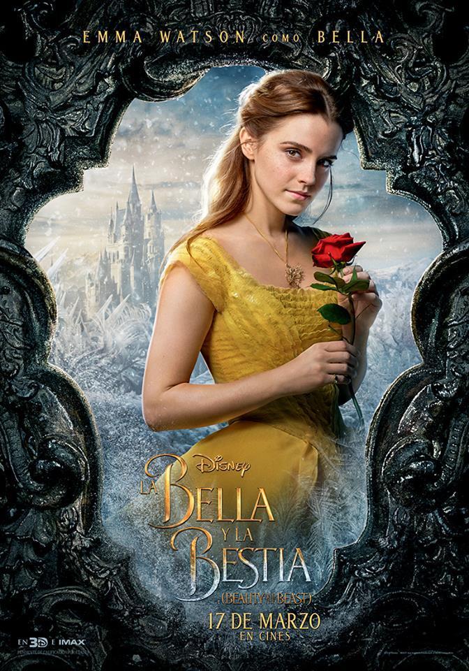 Photo of Nuevos poster de`La Bella y la Bestia´