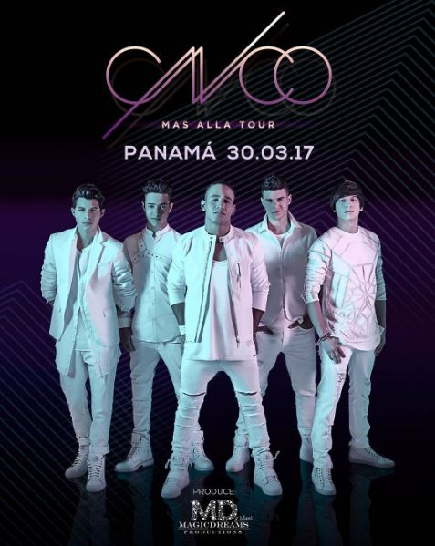 Photo of Preventa exclusiva para ver a CNCO este 30 de marzo