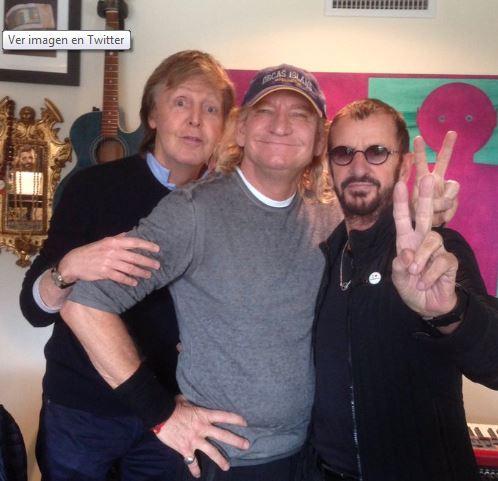 Photo of Paul McCartney y Ringo Starr