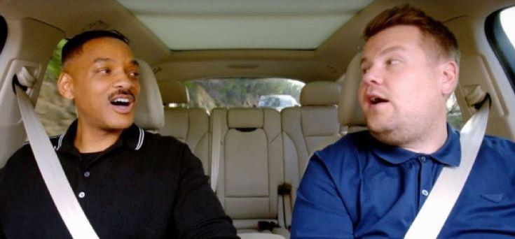 Photo of Will Smith en Carpool Karaoke
