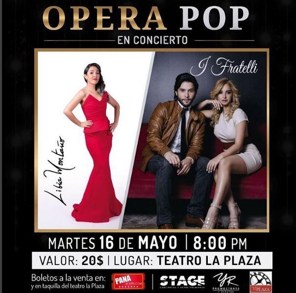 Photo of Concierto de 'Opera Pop'