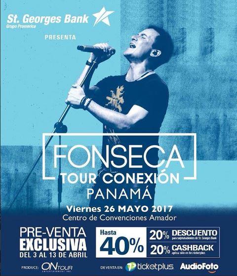 Photo of Fonseca presenta su tour 'Conexión' en Panamá