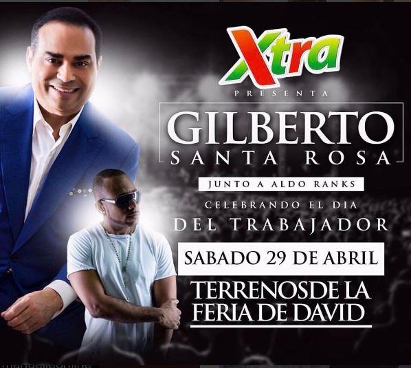 Photo of Empezo el conteo regresivo para recibir a Gilberto Santa Rosa en Chiriquí