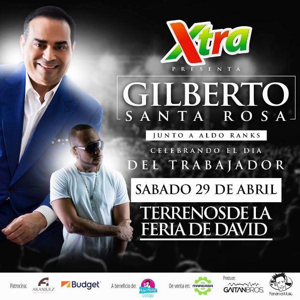 Photo of Gilberto Santa Rosa estará en Chiriquí
