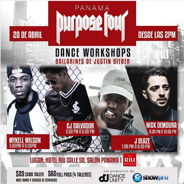 Photo of Falta poco para vivir la experiencia Dance Workshops del #PurposeTour