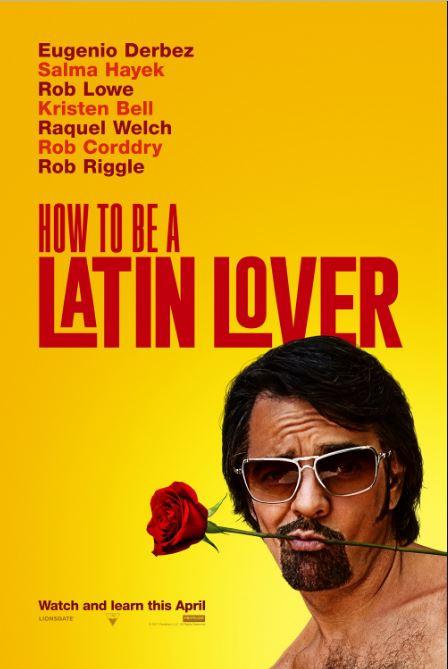 Photo of 'How To Be a Latin Lover' con Salma Hayek y Eugenio Derbez