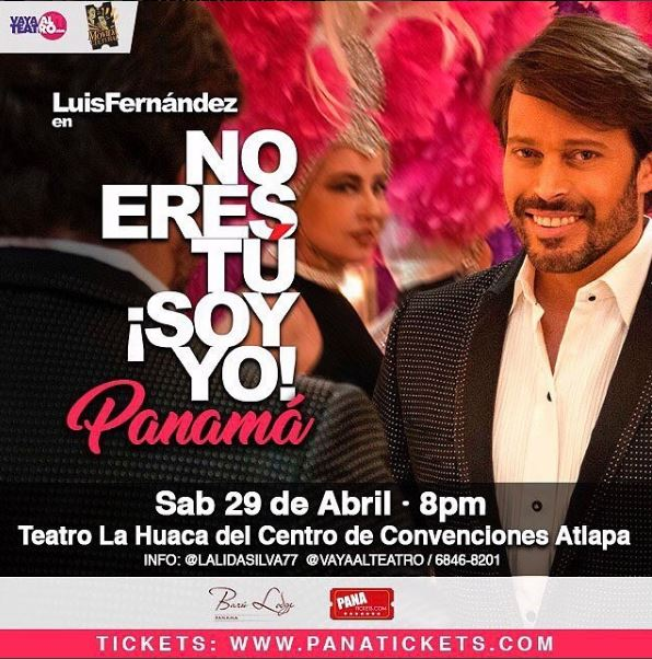 Photo of Luis Fernández presenta monólogo 'No eres tú, soy yo»
