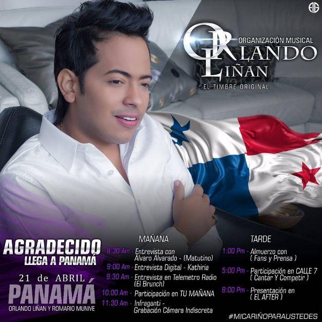 Photo of Orlando Liñan llega a Panamá
