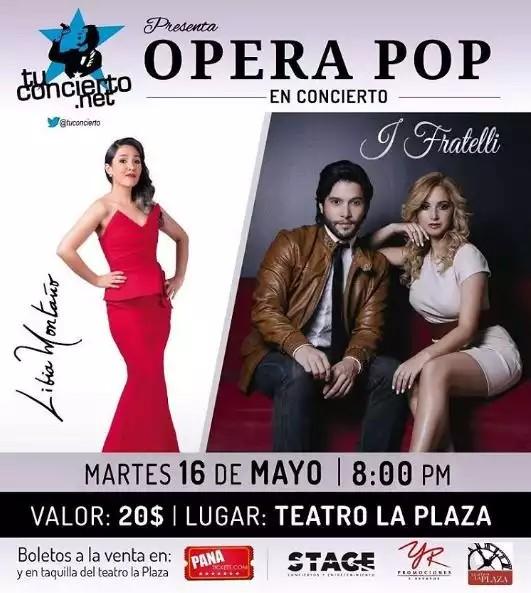 Photo of Esta noche Opera Pop en concierto