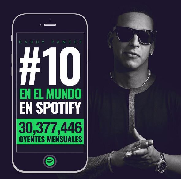 Photo of Daddy Yankee #10 en el mundo