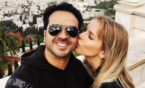 Photo of La esposa de Luis Fonsi dice que ella es «Suertuda»