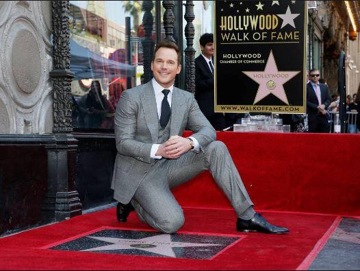 Photo of Chris Patt recibio su estrella en el paseo de la fama