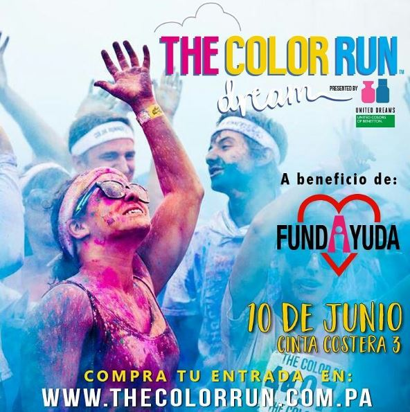 Photo of The Color Run Panamá 2017