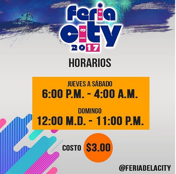 Photo of Esta noche inicia la Feria de la City 2017