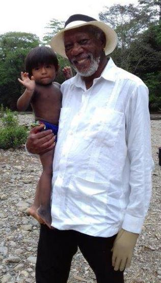 Photo of Morgan Freeman visito Panamá