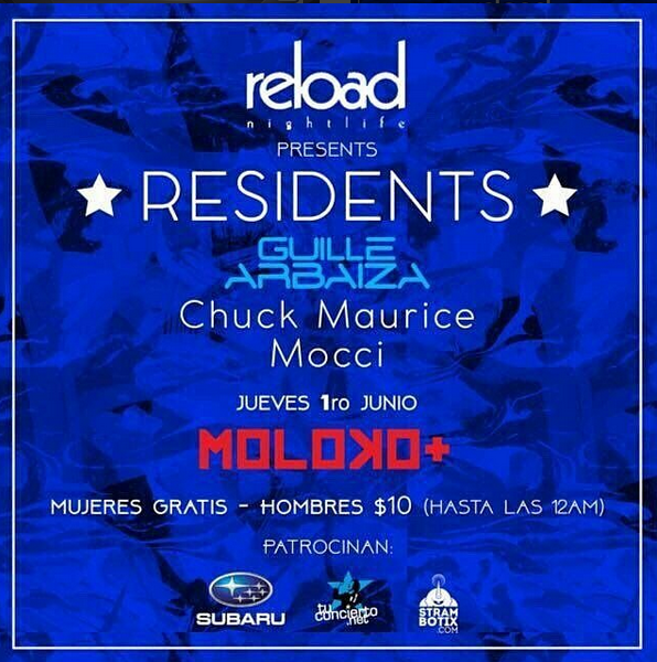 Photo of Reload presenta full house music con Guille Arbaiza