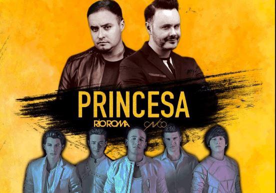 """Photo of Río Roma presento el vídeo oficial """"Princesa"""" junto a CNCO"""