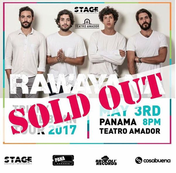 Photo of Sold Out para Rawayana esta noche en Panamá