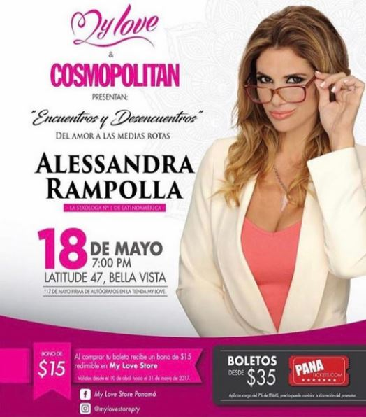 Photo of Alessandra Rampolla llega a Panamá