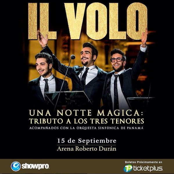 Photo of IL Volo regresa a Panamá