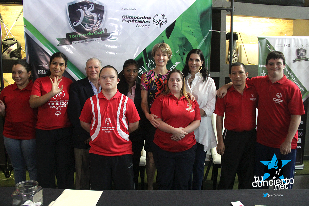 Photo of Conferencia de prensa del 25 Torneo de Golf, Personalidades Sony