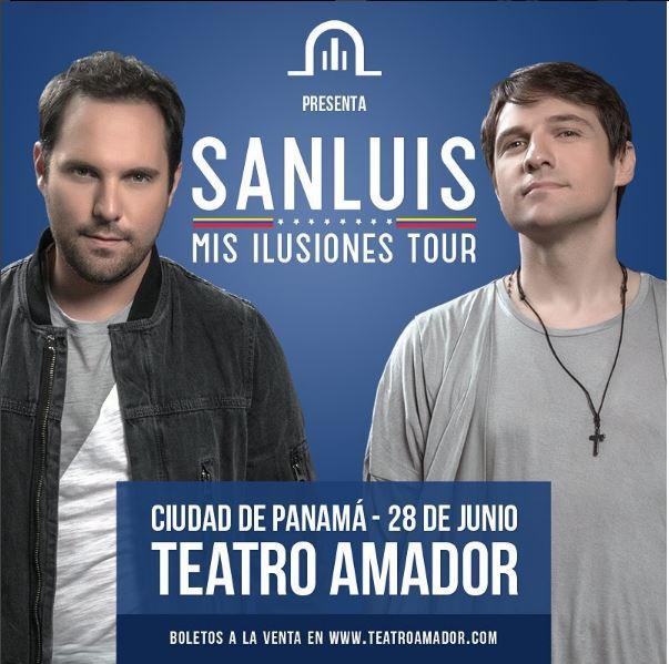 Photo of San Luis en concierto en Panamá