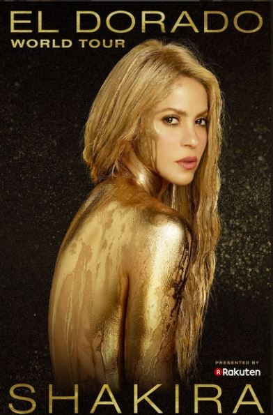 Photo of Shakira anuncia 'El Dorado World Tour'