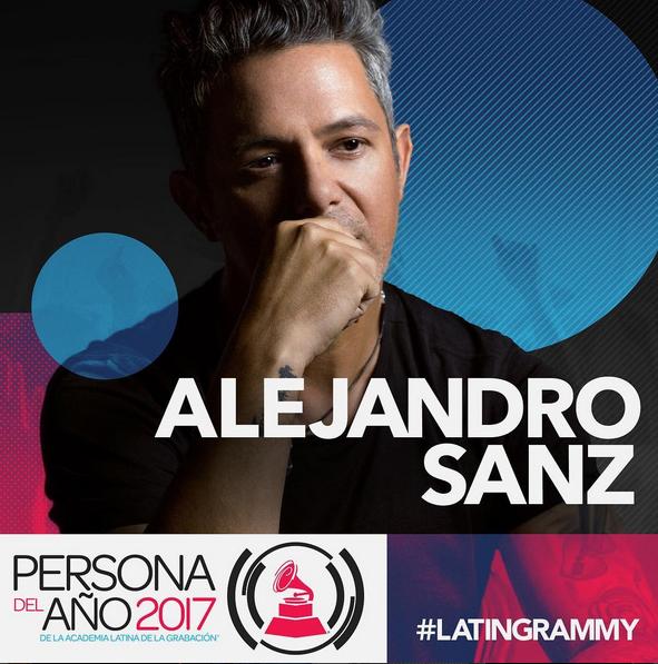 Photo of Alejandro Sanz fue nombrado Persona del Año de la Academia Latina de la Grabación para el 2017