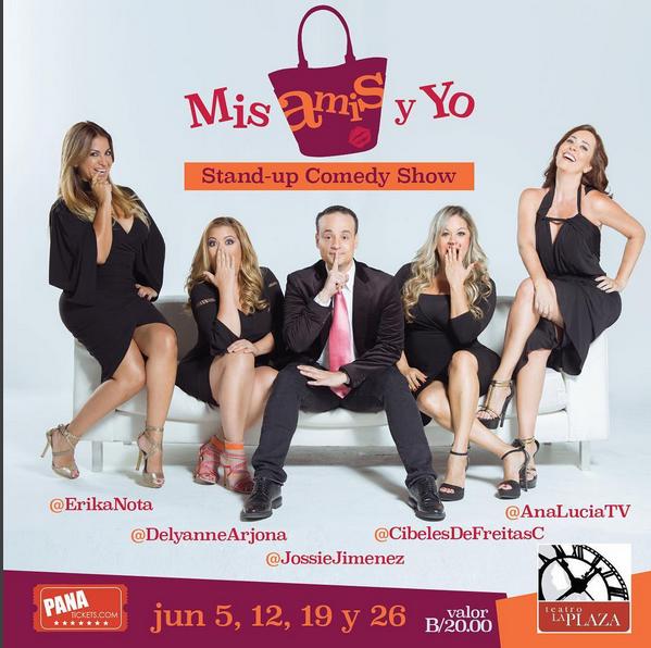 Photo of 'Mis amis y yo' en Teatro la Plaza