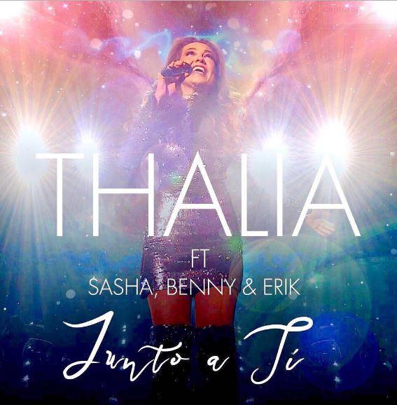 Photo of Thalia estrena la nueva versión de 'Junto a ti'